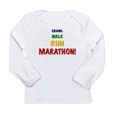 Unique Child of runner Long Sleeve Infant T-Shirt