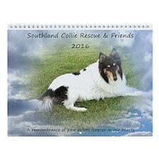 Scr & Friends Rainbow Bridge Wall Calendar
