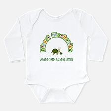 Unique Baby babies children child toddlers Long Sleeve Infant Bodysuit