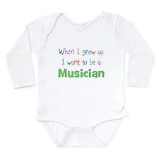 Cute I do what i want Long Sleeve Infant Bodysuit