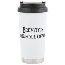 Cute Brevity Travel Mug