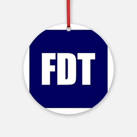FDT Ornament (Round)