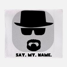 Say My Name Throw Blanket