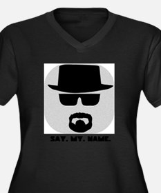 Say My Name Plus Size T-Shirt