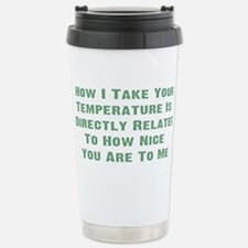 Funny Emergency room nurse Thermos Mug
