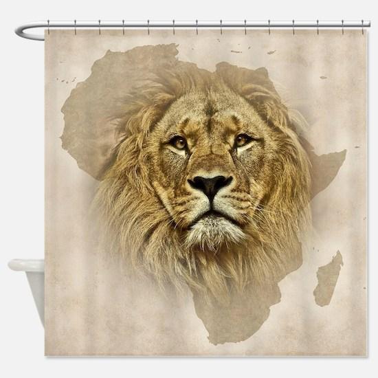 Unique African animals Shower Curtain