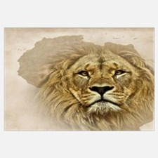 Unique African lion Wall Art