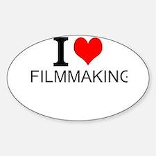 I Love Filmmaking Decal