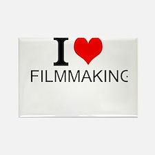 I Love Filmmaking Magnets