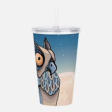 Night Owl Acrylic Double-wall Tumbler