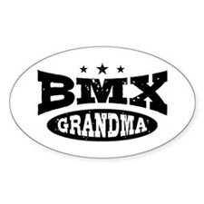 BMX Grandma Decal