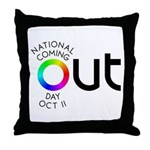 The Big OUT Throw Pillow