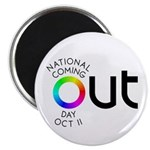 "The Big OUT 2.25"" Magnet (100 pack)"