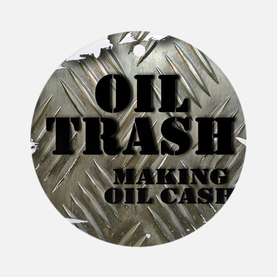 Oilfield Trash Making Oil Cash Corrugated Metal Ro
