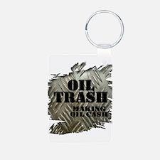 Oilfield Trash Making Oil Cash Corrugated Metal Ke