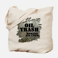 Oilfield Trash Making Oil Cash Corrugated Metal To
