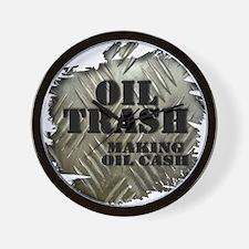 Oilfield Trash Making Oil Cash Corrugated Metal Wa