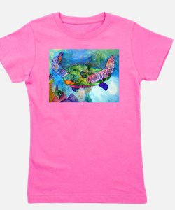 Funny Tropical Girl's Tee