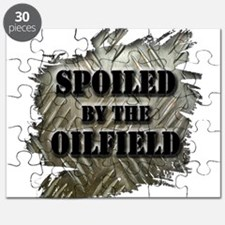 Spoiled By The Oilfield Corrugated Metal Puzzle