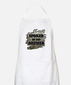 Spoiled By The Oilfield Corrugated Metal Apron
