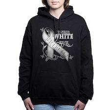 Unique Lung cancer Women's Hooded Sweatshirt
