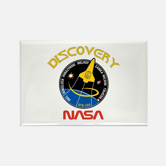 STS 120 Discovery NASA Rectangle Magnet
