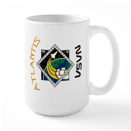 STS 122 Atlantis NASA Large Mug