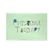 Funny Therapist Rectangle Magnet (10 pack)