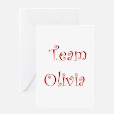 Team Olivia Greeting Card