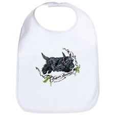 Super Scottih Terrier Bib