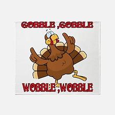 GobbleWBDance Throw Blanket