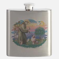 St.Francis #2/ Aus Shep (merl Flask