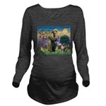 St Francis & Aussie Long Sleeve Maternity T-Shirt