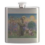 St Francis & Aussie Flask