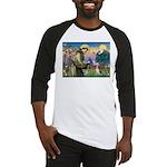 St Francis/Beagle Baseball Jersey