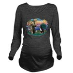 St Francis #2/ BMD Long Sleeve Maternity T-Shirt