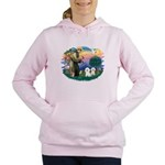 St.Francis #2/ Bichon (2) Women's Hooded Sweat