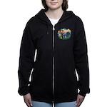 St.Francis #2/ Boston Ter Women's Zip Hoodie