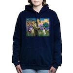 St. Fran. / Brittany Women's Hooded Sweatshirt