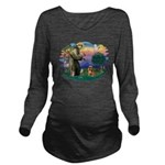 St.Francis #2/ Brussels G Long Sleeve Maternity T-