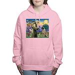 St. Francis / Bull Mastiff Women's Hooded Swea