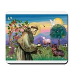 St Francis Doxie Mousepad