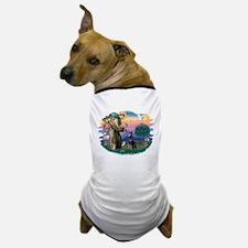 St.Francis #2/ Dobie (cropped Dog T-Shirt