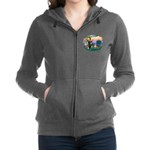 St.Francis #2/ Eng Bull (W-Br Women's Zip Hood