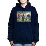 Saint Francis' Golden Women's Hooded Sweatshirt