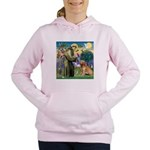 St Francis & Golden Women's Hooded Sweatshirt
