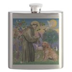 St Francis & Golden Flask
