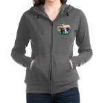 St.Francis #2/ Great Dane (H) Women's Zip Hood