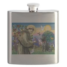 Unique Labrador Flask