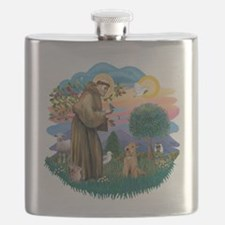 St.Francis #2/ Lakeland T Flask